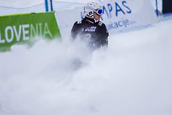 Selina Joerg (GER),finish during Final Run at Parallel Giant Slalom at FIS Snowboard World Cup Rogla 2019, on January 19, 2019 at Course Jasa, Rogla, Slovenia. Photo byJurij Vodusek / Sportida