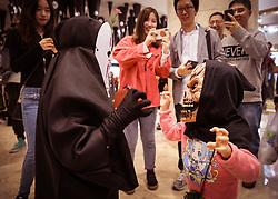 November 1, 2018 - Nanjing, Nanjing, China - Nanjing, CHINA-Many youngsters attend the Halloween party in Nanjing, east China's Jiangsu Province. (Credit Image: © SIPA Asia via ZUMA Wire)