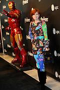 Nederlandse premiere van Marvel's The Avenger in het Rai Theater, Amsterdam <br /> <br /> Op de foto: Chazia Mourali