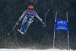 12.02.2011, Kandahar, Garmisch Partenkirchen, GER, FIS Alpin Ski WM 2011, GAP, Herren Abfahrt, im Bild Andrej Jerman (SLO) takes to the air competing in the men's downhill race on the Kandahar race piste at the 2011 Alpine skiing World Championships, EXPA Pictures © 2010, PhotoCredit: EXPA/ M. Gunn