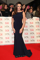 Danielle Lloyd, National Television Awards, The O2 , London UK, 25 January 2017, Photo by Richard Goldschmidt