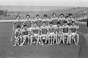 12.09.1971 Hurling Under 21 Final Cork Vs Wexford.Wexford Team.Cork.7-8.WexFord.1-11