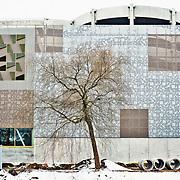 Kristianstad, betongreportage, köpcenter