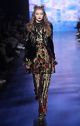 Gigi Hadid at New York Fashion Week