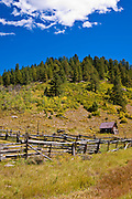Ranch on the San Juan Skyway (Highway 62), Uncompahgre National Forest, Colorado