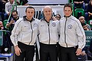 DESCRIZIONE : Sassari LegaBasket Serie A 2015-2016 Dinamo Banco di Sardegna Sassari - Giorgio Tesi Group Pistoia<br /> GIOCATORE : Alessandro Vicino Paolo Taurino Guido Federico Di Francesco<br /> CATEGORIA : Arbitro Referee Before Pregame<br /> SQUADRA : AIAP<br /> EVENTO : LegaBasket Serie A 2015-2016<br /> GARA : Dinamo Banco di Sardegna Sassari - Giorgio Tesi Group Pistoia<br /> DATA : 27/12/2015<br /> SPORT : Pallacanestro<br /> AUTORE : Agenzia Ciamillo-Castoria/L.Canu