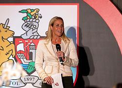 Lisa Knights hosts the Lansdown Club event - Mandatory by-line: Robbie Stephenson/JMP - 06/09/2016 - GENERAL SPORT - Ashton Gate - Bristol, England - Lansdown Club -