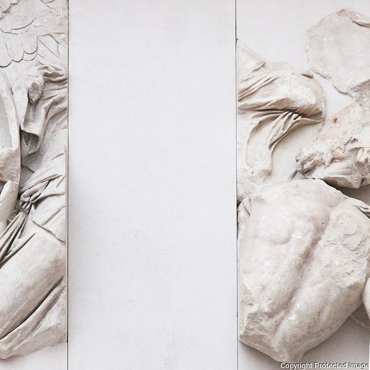Themis. Invisible Gods<br /> Pergamon Altar, Pergamon Museum, Berlin, Germany.