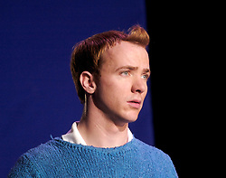 Herge's Adventures of Tintin<br /> at the Playhouse Theatre, London, Great Britain<br /> press photocall<br /> 6th December 2007<br /> <br /> Matthew Parish (as Tintin)<br /> <br /> <br /> Photograph by Elliott Franks
