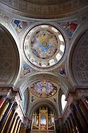 Interior of the Neo Classical Basilica, Eger, Hungary