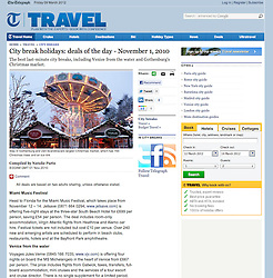 The Telegraph Travel; Gothenburg Christmas markets in liseberg