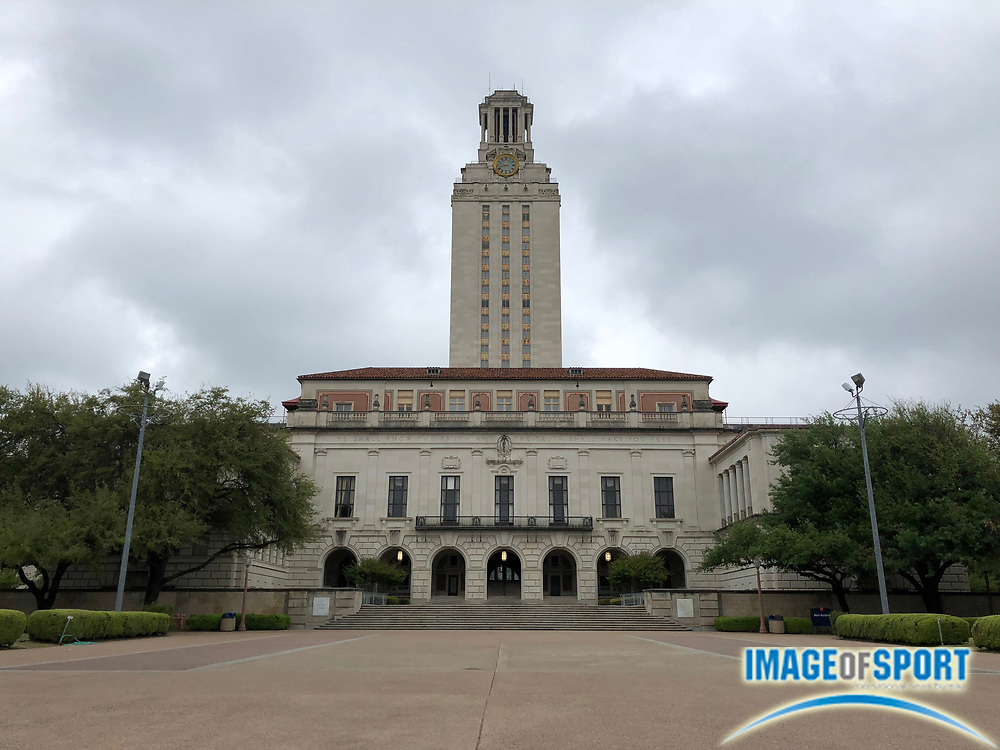 Mar 31, 2018; Austin, TX, USA; General overall view of the Main Building aka The Tower on the campus of University of Texas.