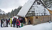 Zakopane 2012-02-08Polana Strążyska w Dolinie Strążyskiej, Tatry Zachodnie