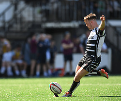 Pontypridd's Jordan Rees<br /> Pontypridd RFC v Cardiff RFC<br /> <br /> Photographer Mike Jones / Replay Images<br /> Sardis Road, Pontypridd.<br /> Wales - 5th May 2018.<br /> <br /> Pontypridd RFC v Cardiff RFC<br /> Principality Premiership<br /> <br /> World Copyright © Replay Images . All rights reserved. info@replayimages.co.uk - http://replayimages.co.uk