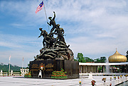 National Monument War Memorial in Kuala Lumpur, Malaysia.
