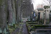 Karlovy Vary (Karlsbad)/Tschechische Republik, CZE, 14.12.06: Hauptfriedhof in Drahovice, Karlovy Vary (Karlsbad).<br /> <br /> Karlovy Vary (Karlsbad)/Czech Republic, CZE, 14.12.06: Central Cemetery in Drahovice, Karlovy Vary (Karlsbad).