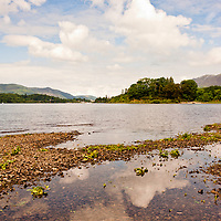 A beautiful view of the Windermere lake in the Lake District, Cumbria, UK