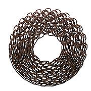 Metal chain entangled