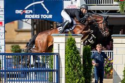 BRINKMANN Markus (GER), PIKEUR DYLON<br /> Münster - Turnier der Sieger 2019<br /> Grosser Preis von Münster - Siegerrunde<br /> BEMER Riders Tour Etappenwertung<br /> CSI4* - Int. Jumping competition over 2 rounds (1.60 m)<br /> 04. August 2019<br /> © www.sportfotos-lafrentz.de/Stefan Lafrentz