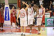 DESCRIZIONE : Pistoia Lega serie A 2013/14 Giorgio Tesi Group Pistoia Victoria Libertas Pesaro<br /> GIOCATORE : johnson jajuan<br /> CATEGORIA : esultanza <br /> SQUADRA : Giorgio Tesi Group Pistoia<br /> EVENTO : Campionato Lega Serie A 2013-2014<br /> GARA : Giorgio Tesi Group Pistoia Victoria Libertas Pesaro<br /> DATA : 24/11/2013<br /> SPORT : Pallacanestro<br /> AUTORE : Agenzia Ciamillo-Castoria/GiulioCiamillo<br /> Galleria : Lega Seria A 2013-2014<br /> Fotonotizia : Pistoia Lega serie A 2013/14 Giorgio Tesi Group Pistoia Victoria Libertas Pesaro<br /> Predefinita :