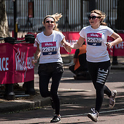 Thousands of runners participle Vitality London 10000 running for individual favorite charity on 28 May 2018, London, UK.