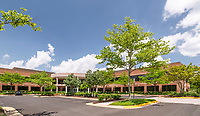 Architectural image of Ridgeview 2 Office Building in Chantilly Virginia by Jeffrey Sauers of Commercial Photographics, Architectural Photo and Video Artistry