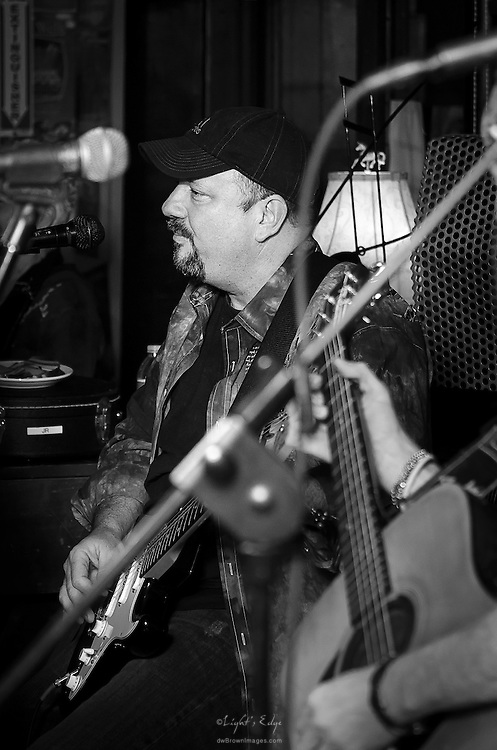 Bill Hornibrook of Love Alive during their performance at The Bus Stop Music Cafe in Pitman, NJ.