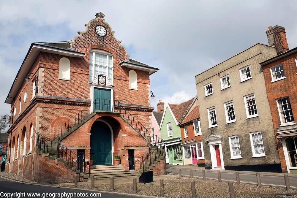 Shire Hall on Market Hill, Woodbridge, Suffolk
