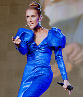 Celine Dion at the  Barclaycard Presents British Summer Time ,Hyde Park in London, England.