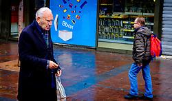 An old man in the rain in Toulouse, France<br /> <br /> (c) Andrew Wilson | Edinburgh Elite media