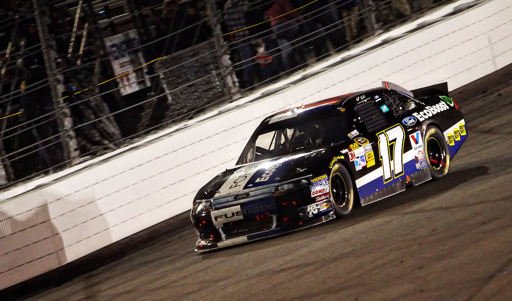 Apr 28, 2012; Richmond, VA, USA; NASCAR Sprint Cup driver Matt Kenseth (17) during the Capital City 400 at Richmond International Raceway. Mandatory Credit: Peter Casey-US PRESSWIRE.