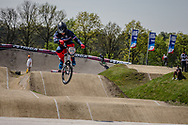#120 (PELLUARD Vincent) FRA at the 2016 UCI BMX Supercross World Cup in Papendal, The Netherlands.