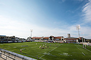 Clemson University takes on the University of Colorado at Red Bull Uni 7s Rugby Qualifiers at Infinity Park in Glendale, CO, USA, on 25 August, 2016.