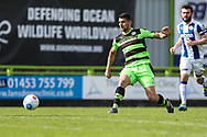 Forest Green Rovers Omar Bugiel(11) during the Vanarama National League match between Forest Green Rovers and Chester FC at the New Lawn, Forest Green, United Kingdom on 14 April 2017. Photo by Shane Healey.