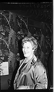 """Innoxa Reception At The Gresham Hotel..1963..02.10.1963..10.02.1963..2nd October 1963..At the Gresham Hotel, O'Connell Street, Dublin, Innoxa launched a new beauty range. The range,""""Living Peach"""", was introduced to members of the trade by Mr Bernard Mc Flynn,General Manager of Innoxa (England) Ltd. ..Portrait of Ms Eileen O'Boyle, Provincial Consultant at the launch of """"Living Peach"""" the new Innoxa beauty range."""