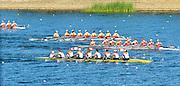 Sydney, Australia.   Women's Eight Repechage, USA W8+, Bow.  Adrienne MARTELLI, Ellen TOMEK, Sara HENDERSHOT, Amanda POLK, Grace LUCZAK, Taylor RITZEL, Meghan MUSNICKI, Caroline LIND and cox, Leigh CARROLL., FISA World Cup I. and  Sydney International Rowing Regatta. Sydney International Rowing Centre, Penrith Lakes, NSW.   Saturday   23/03/2013 [Mandatory Credit. Peter Spurrier/Intersport Images]..