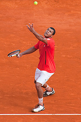 15.04.2010, Country Club, Monte Carlo, MCO, ATP, Monte Carlo Masters, im Bild Jo-Wilfried Tsonga, EXPA Pictures © 2010, PhotoCredit: EXPA/ M. Gunn / SPORTIDA PHOTO AGENCY