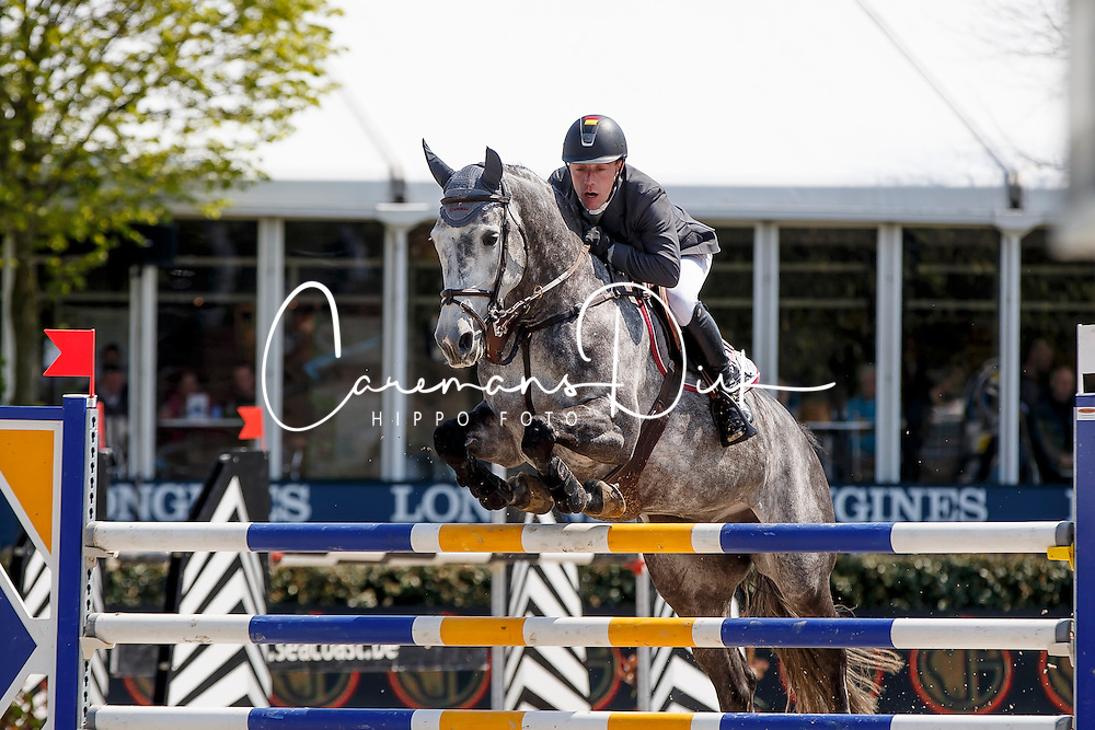 Goffinet Thiery, (BEL), Think Twice 111 Z <br /> Longings Spring Classic of Flanders<br /> CSIO 5* Lummen 2016<br /> © Hippo Foto - Dirk Caremans<br /> 01/05/16