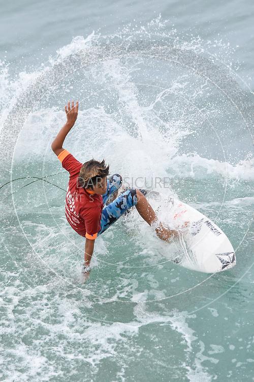 NSSA Surf Championships, Sunday July 3rd, Huntington Beach, California, Boys Semi-Finals,