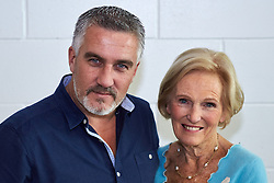 © Licensed to London News Pictures.  15/11/2013. LONDON, UK. Great British Bake Off stars Paul Hollywood (L) and Mary Berry (R)  at the BBC Good Food Show held in Olympia Exhibition Hall. The event opens today and runs until Sunday 17 November. Photo credit: Cliff Hide/LNP