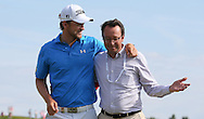 FFGolf's Pascal Grizot congratulates Bernd Wiesberger (AUT) who wins the Final Round of the 2015 Alstom Open de France, played at Le Golf National, Saint-Quentin-En-Yvelines, Paris, France. /05/07/2015/. Picture: Golffile | David Lloyd<br /> <br /> All photos usage must carry mandatory copyright credit (© Golffile | David Lloyd)