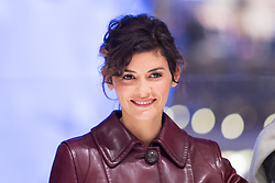 Audrey Tautou at the opening of Christmas decorations at Les Galeries Lafayette Store in Paris, France on november 8th 2016. Photo by Nasser Berzane/ABACAPRESS.COM    570481_086 Paris France