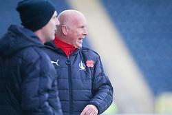 Falkirk's manager Peter Houston. Falkirk 1 v 1 Morton, Scottish Championship game played 5/11/2016 at The Falkirk Stadium. Pic Ross Schofield.