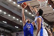 DESCRIZIONE : Beko Legabasket Serie A 2015- 2016 Dinamo Banco di Sardegna Sassari - Enel Brindisi<br /> GIOCATORE : Gabriele Pacifico<br /> CATEGORIA : Tiro Penetrazione Sottomano<br /> SQUADRA : Enel Brindisi<br /> EVENTO : Beko Legabasket Serie A 2015-2016<br /> GARA : Dinamo Banco di Sardegna Sassari - Enel Brindisi<br /> DATA : 18/10/2015<br /> SPORT : Pallacanestro <br /> AUTORE : Agenzia Ciamillo-Castoria/C.Atzori