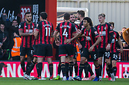 during the Premier League match between Bournemouth and Arsenal at the Vitality Stadium, Bournemouth, England on 25 November 2018.
