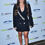 Courtney Green attend Teens Unite - Tales Untold at Rosewood London on 29 November 2019, London, UK
