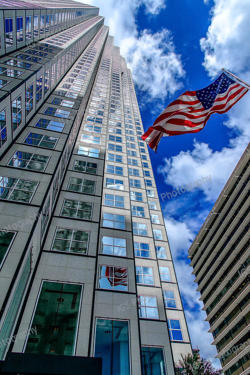 Southeast Financial Center Skyscraper in downtown Miami