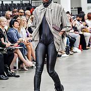 Liverpool John Moores University showcases at Graduate Fashion Week 2019, on 2nd June 2019, Old Truman Brewery, London, UK.