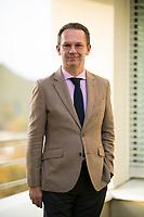 DEU, Deutschland, Germany, Berlin, 07.11.2018: Portrait von Michael Backhaus, früherer Vize-Chefredakteur der Bild am Sonntag, heute tätig als Berater für Wirtschaft und Politik.