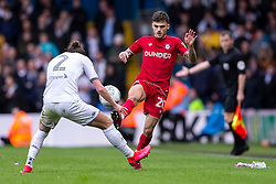 Jamie Paterson of Bristol City takes on Luke Ayling of Leeds United - Mandatory by-line: Daniel Chesterton/JMP - 15/02/2020 - FOOTBALL - Elland Road - Leeds, England - Leeds United v Bristol City - Sky Bet Championship